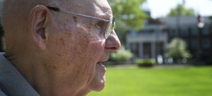 Dr. Earl Danieley graduated from Elon College in 1946 (Photo Courtesy of The Pendulum)